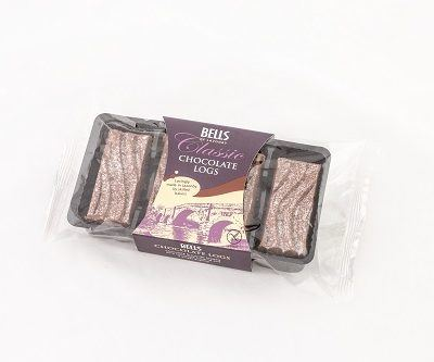 Chocolate Log slices