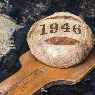 1946 White Sourdough Boule