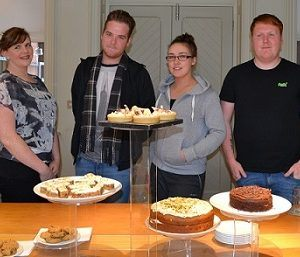 Level 3 Apprentices present their final cakes