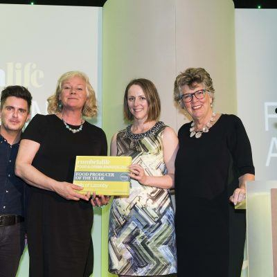 Winner of Food Producer of the Year Cumbria Life Food & Drink Awards