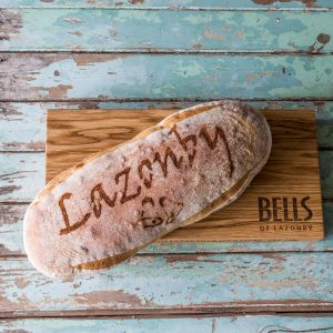 Bells of Lazonby Bread Board